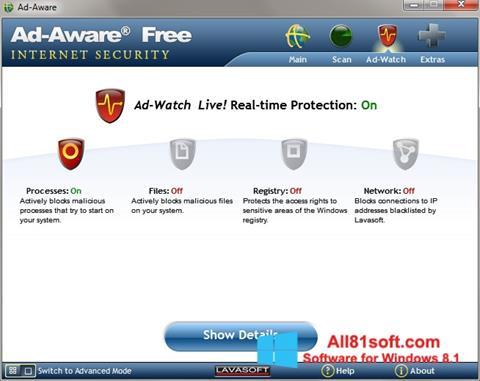 Ekran görüntüsü Ad-Aware Windows 8.1