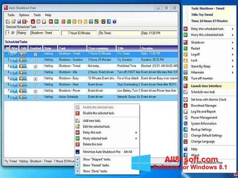 Ekran görüntüsü Auto ShutDown Windows 8.1