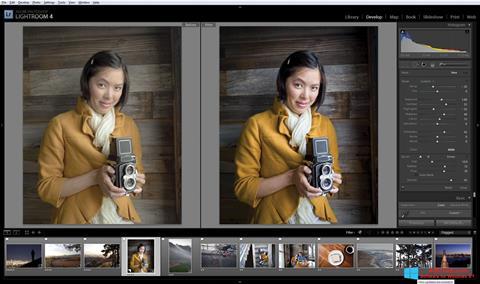 Ekran görüntüsü Adobe Photoshop Lightroom Windows 8.1