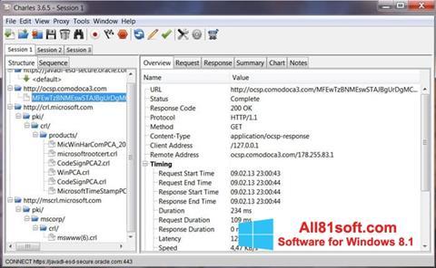 Ekran görüntüsü Charles Windows 8.1