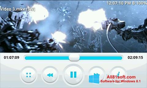 Ekran görüntüsü BSPlayer Windows 8.1