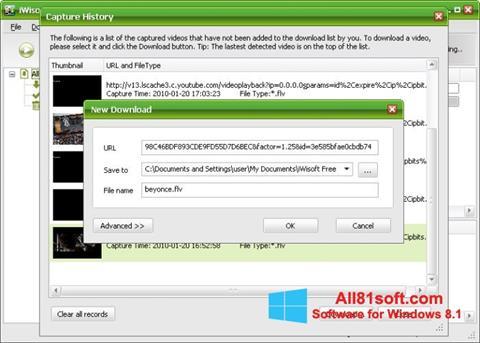 Ekran görüntüsü Free Video Catcher Windows 8.1