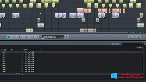 Ekran görüntüsü MAGIX Music Maker Windows 8.1
