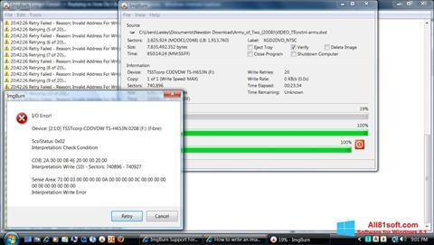 Ekran görüntüsü ImgBurn Windows 8.1