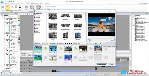 Ekran görüntüsü VSDC Free Video Editor Windows 8.1