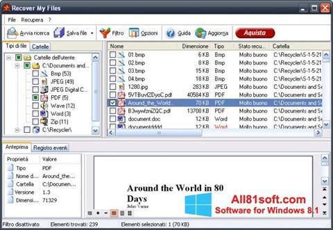 Ekran görüntüsü Recover My Files Windows 8.1