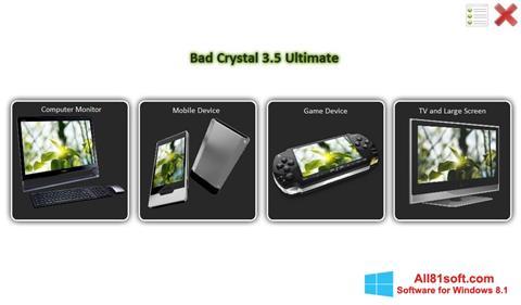 Ekran görüntüsü Bad Crystal Windows 8.1