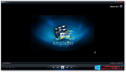 Ekran görüntüsü KMPlayer Windows 8.1