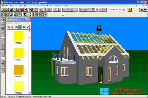 Ekran görüntüsü Arcon Windows 8.1