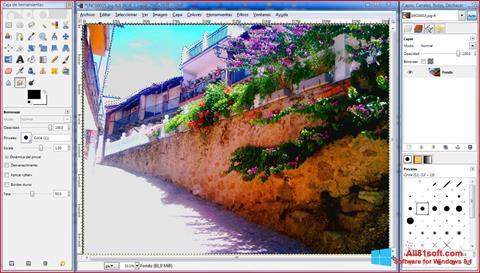 Ekran görüntüsü GIMP Windows 8.1