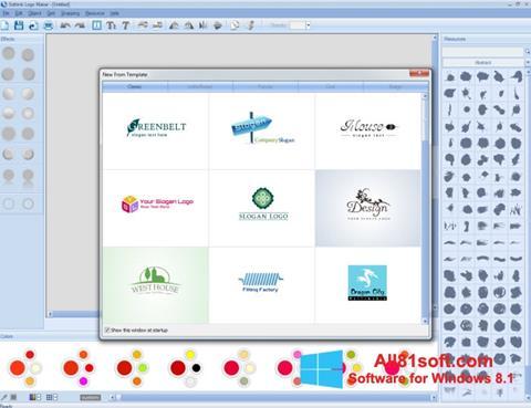 Ekran görüntüsü Sothink Logo Maker Windows 8.1