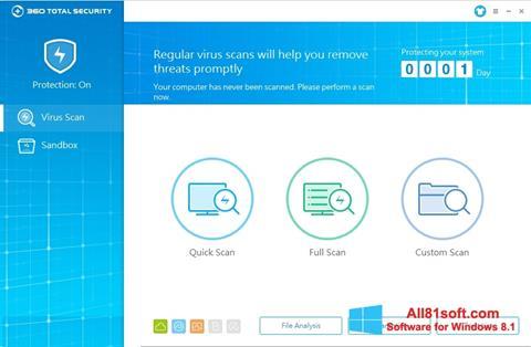 Ekran görüntüsü 360 Total Security Windows 8.1