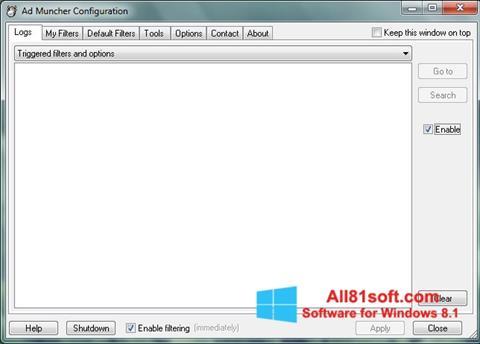 Ekran görüntüsü Ad Muncher Windows 8.1