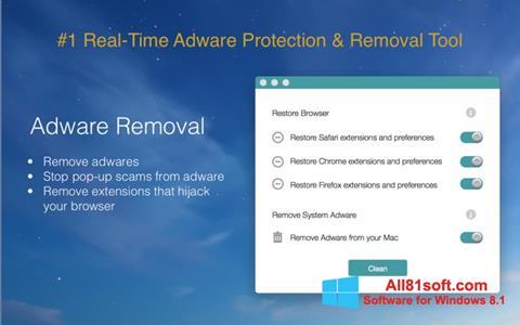 Ekran görüntüsü Adware Removal Tool Windows 8.1