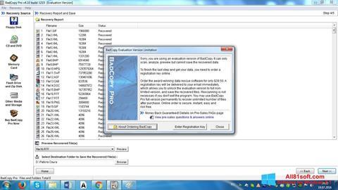 Ekran görüntüsü BadCopy Pro Windows 8.1