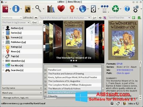 Ekran görüntüsü Calibre Windows 8.1