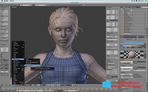 Ekran görüntüsü Blender Windows 8.1