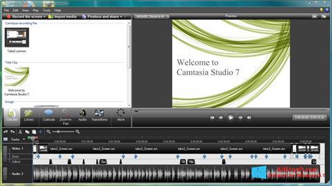 Ekran görüntüsü Camtasia Studio Windows 8.1