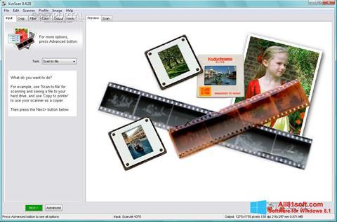 Ekran görüntüsü VueScan Windows 8.1
