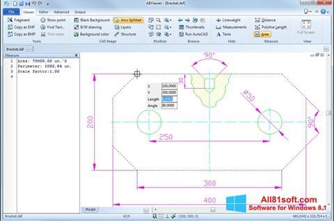 Ekran görüntüsü ABViewer Windows 8.1