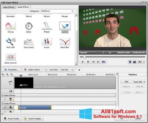Ekran görüntüsü AVS Video Converter Windows 8.1