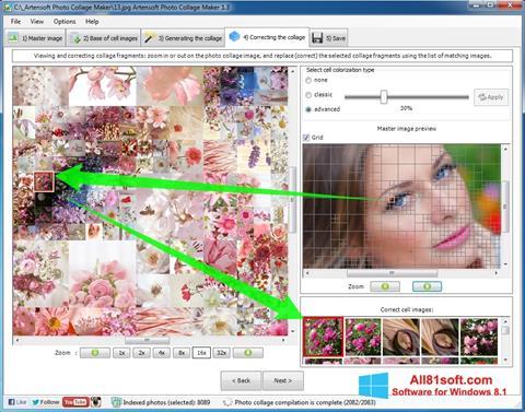 Ekran görüntüsü Photo Collage Maker Windows 8.1