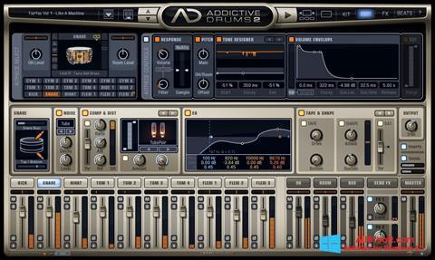 Ekran görüntüsü Addictive Drums Windows 8.1