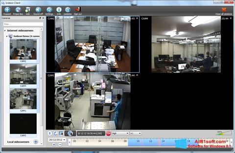 Ekran görüntüsü Ivideon Server Windows 8.1
