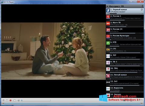 Ekran görüntüsü IP-TV Player Windows 8.1