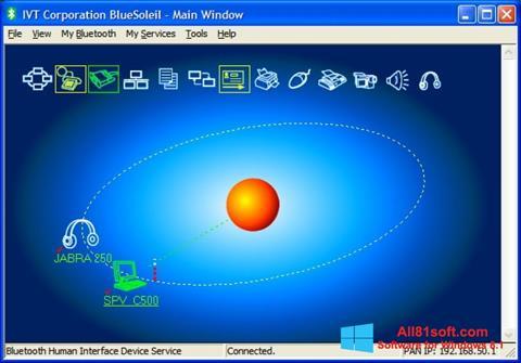 Ekran görüntüsü BlueSoleil Windows 8.1