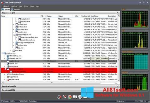 Ekran görüntüsü Comodo Cleaning Essentials Windows 8.1