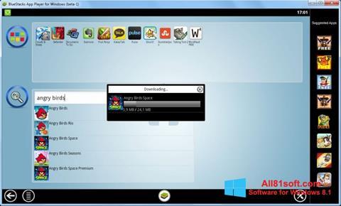 Ekran görüntüsü BlueStacks Windows 8.1