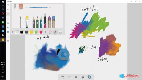 Ekran görüntüsü Fresh Paint Windows 8.1