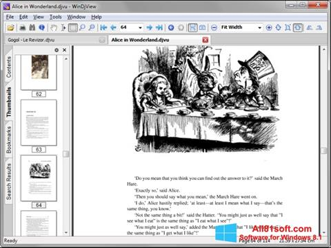 Ekran görüntüsü WinDjView Windows 8.1