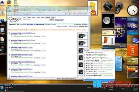 Ekran görüntüsü Google Desktop Windows 8.1