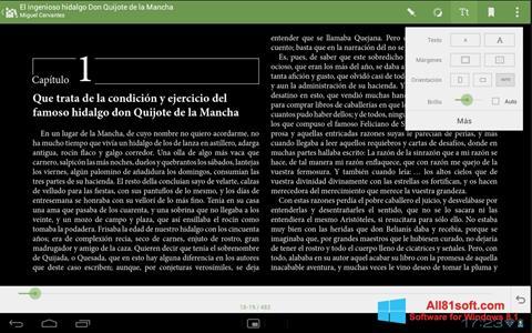 Ekran görüntüsü BookReader Windows 8.1