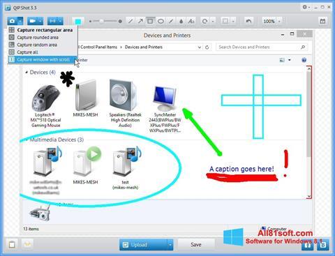Ekran görüntüsü QIP Shot Windows 8.1