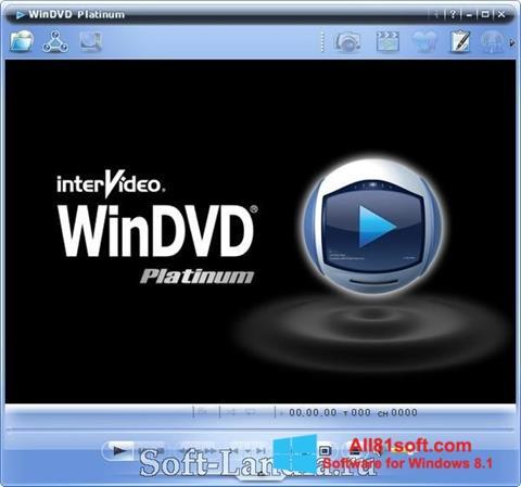 Ekran görüntüsü WinDVD Windows 8.1