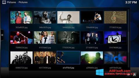 Ekran görüntüsü Kodi Windows 8.1