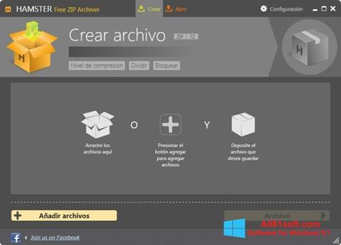 Ekran görüntüsü Hamster Free ZIP Archiver Windows 8.1