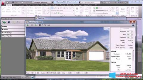 Ekran görüntüsü AutoCAD Windows 8.1