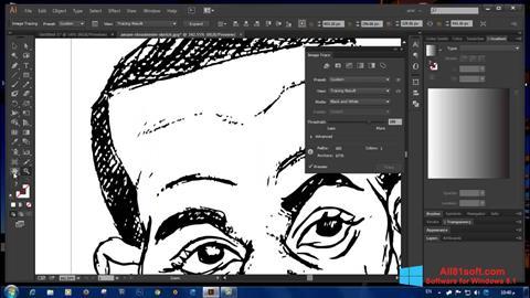 Ekran görüntüsü Adobe Illustrator CC Windows 8.1