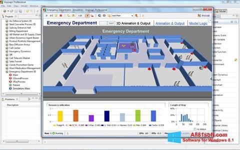 Ekran görüntüsü AnyLogic Windows 8.1