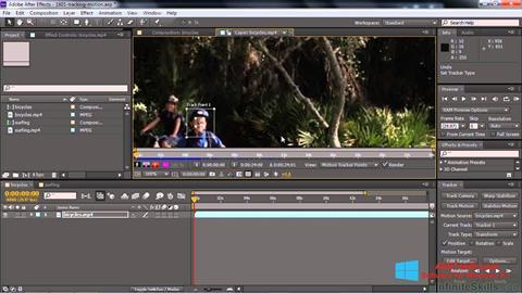 Ekran görüntüsü Adobe After Effects CC Windows 8.1