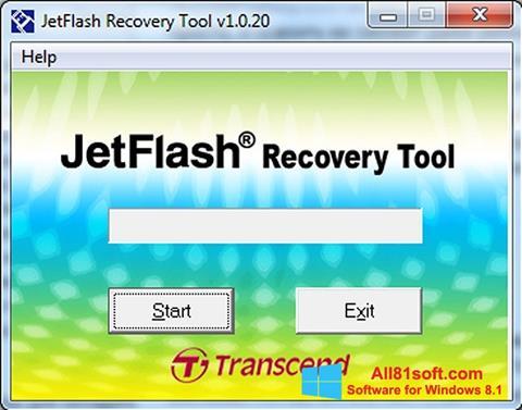 Ekran görüntüsü JetFlash Recovery Tool Windows 8.1