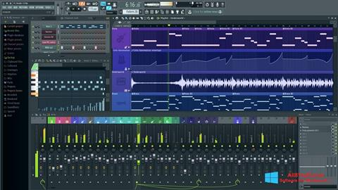 Ekran görüntüsü FL Studio Windows 8.1