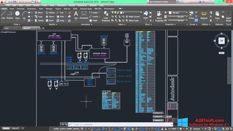 Ekran görüntüsü AutoCAD Electrical Windows 8.1