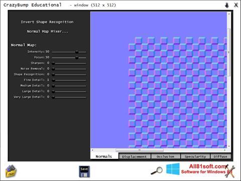 Ekran görüntüsü CrazyBump Windows 8.1