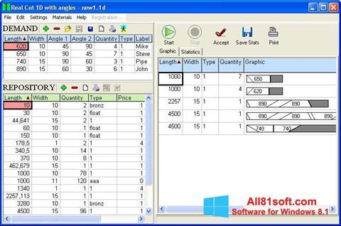 Ekran görüntüsü Cutting Windows 8.1