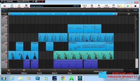 Ekran görüntüsü NanoStudio Windows 8.1